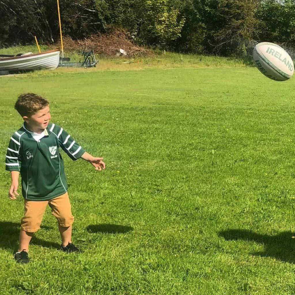 Unisex Childrens Ireland style Rugby Top