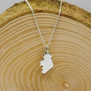 Ireland Map Necklace