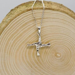 St. Brigid's Cross Necklace (Large)