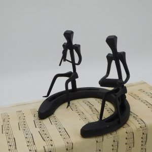 Duo Whistle Player and Concertina Player Carna Nail Craft