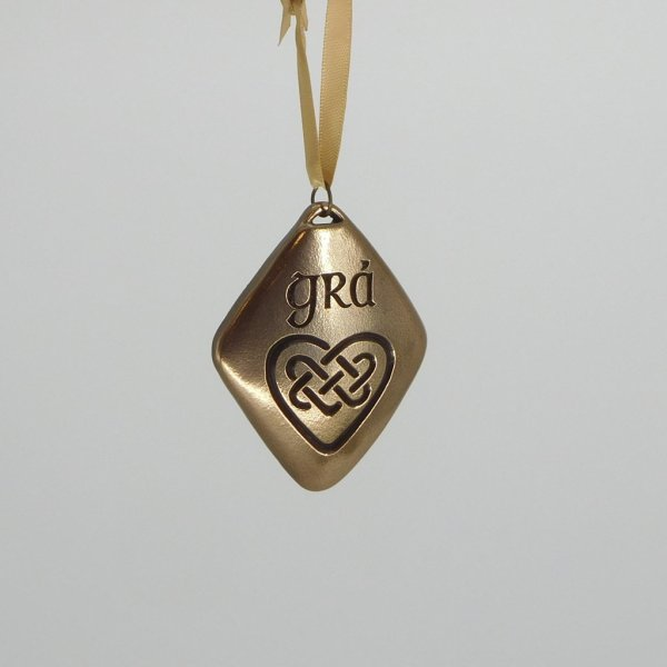 Grá Bronze Ornament Wild Goose Studio