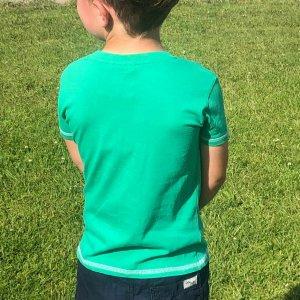 Green Ireland Celtic Nation Kids T-Shirt back